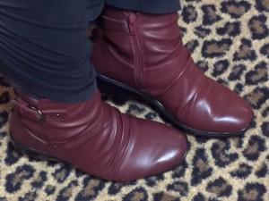 Lindsay\'s boots