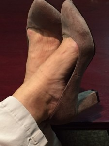 Lynn's shoes