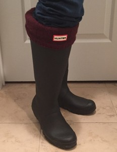 Nicole's boots